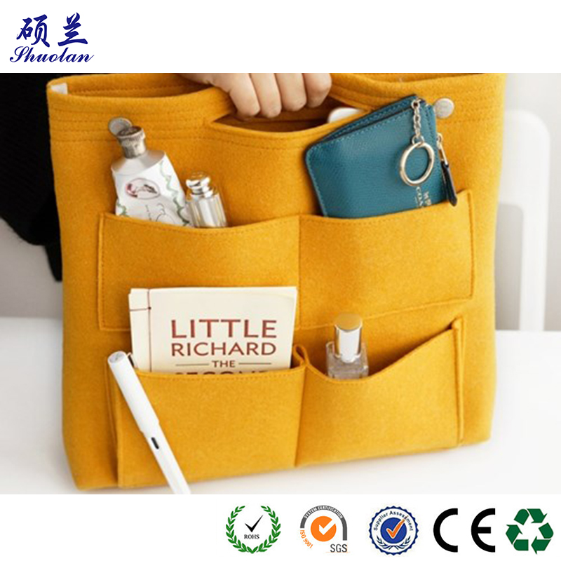 Good Quality Felt Bag Organizer
