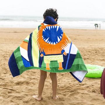 Großhandel benutzerdefinierte Kinder Strand Handtuch