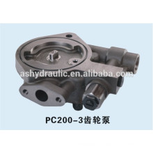Komatsu PC200-3 Getriebe hydraulische Ladungspumpe