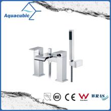 Chromed Brass Bath Shower Faucet with Hand Shower (AF6090-2B)