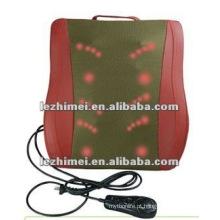 Uso doméstico LM-509 cintura almofada de massagem com calor infravermelho