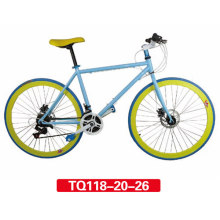 Moda Hombres Flip Flop Hub Fixed Gear Bike 27 ""