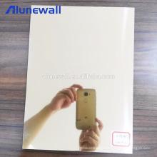 High Quality golden mirror Cladding Wall Composite Aluminium Panels