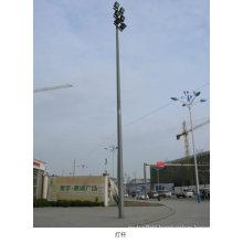 Straight Galvanized Street Light Steel Pole
