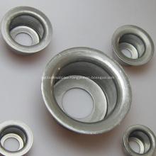 Belt Conveyor Roller Components Stamping Ball Bearing Block