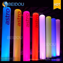 Evento Insuflables Tubos con arco iluminado Conos Colmillos de marfil Pilares inflables