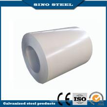Bobina de PPGI branco cinza aço pré-pintadas Gi bobina de aço