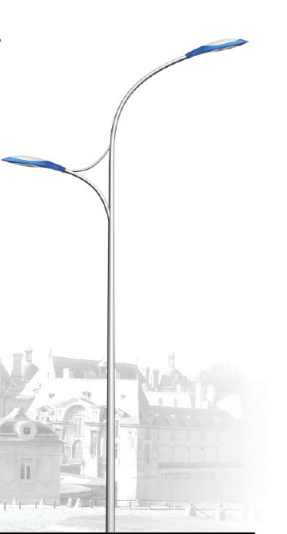 Double Pole Street Lamp
