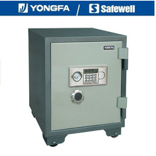 Yongfa 60cm Height Ald Panel Electronic Fireproof Safe with Knob