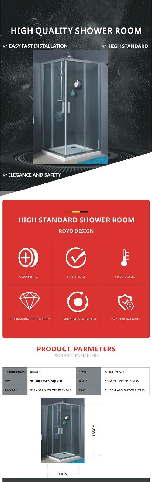 aluminium bath Shower enclosure