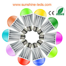 2014 Neuer Entwurf 7W RGB / warme weiße LED Birne