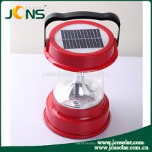 Venta caliente de China Lista de precios de luz solar, luz de camping accionada solar