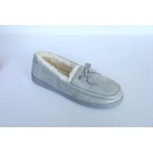 Loafer Schuhe mit Frau