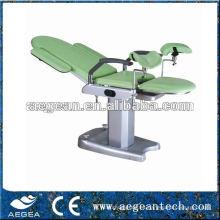 AG-S102B CE aprobó altura fija manual ginecologia silla