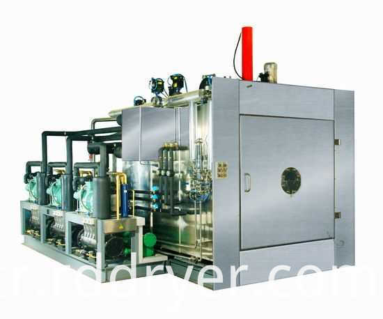 industrial Microwave Vacuum drying machine for condiment