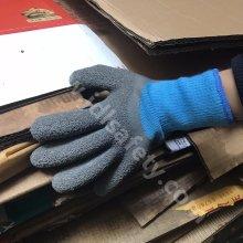 Зимние перчатки латекс с покрытием (LY2037)