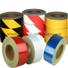 Black and Yellow High Intensity Grade Reflective Warning Tape