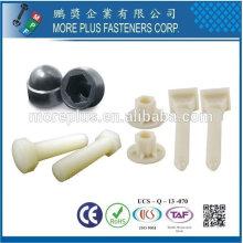 Taiwan Plastic Sheet Plastic Tube Nuts et boulons en plastique
