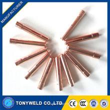 Pièces de rechange torche tiges wp9 13N20 collerette de soudure 0.5mm