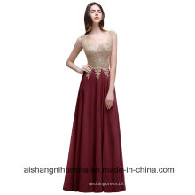 Женщины Длинное Вечернее Платье Кружева Вечерние Платья Пром Платье