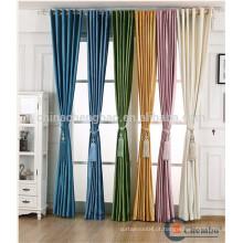 Cortinas e cortinas de veludo pré-fabricadas