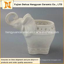 Porcelain Elephant Shape Flowers Vase with Hight Quality (Home Decoration)