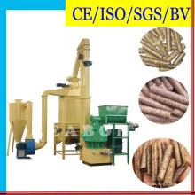 Biocombustible 6mm Pellet de madera que hace la línea de producción Planta Máquina de prensa