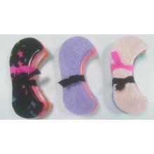 Mode-gut aussehende Frau und Mädchen unsichtbare Socken Liner Baumwollsocken