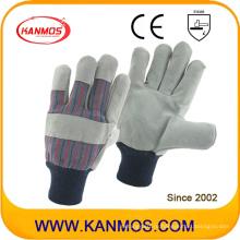Защитные перчатки для промышленной безопасности из корыстой кожи (11019)