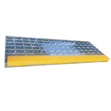 Galvanized Anti Slip Stair Treads Steel Grating Weight