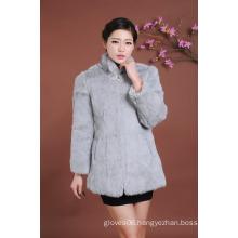 Lady Fur Overcoat Winter Fur Coat Women Outwear Coat