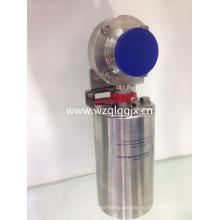 Нержавеющая сталь Электрический санитарно сварной клапан-бабочка