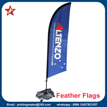 Shenzhen Custom Swooper Blade Promo Flags
