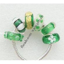 2015 Gets.com européen perles lampwork perles en argent sterling