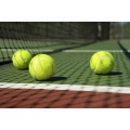 12 mm Anti-UV Durable cancha de tenis artificial