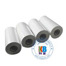 Ruban c de transfert thermique blanc de label de soin de lavage de textile de 110mm * de 300m