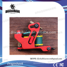 Dragonhawk Handmade Iron Tattoo Machine Shader Machine Red Color