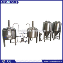 Stainless Steel Brew Kettle Heating By Electric Bolier Brewhouse