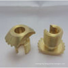 Anodized CNC Brass Parts with OEM Service