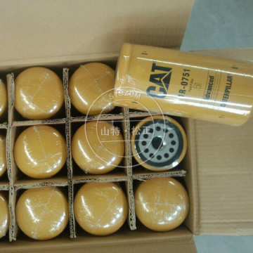 Cartucho de filtro de óleo de escavadeira Caterpillar 1R-0739