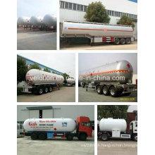 Selling ASME Standard 60m3/ LPG Gas Cylinder Tanker Trailer