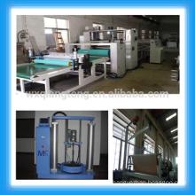 Hot melt fabric laminating machine/PUR HPL laminating roller machine