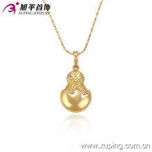32236 Xuping cool jewelry 18k gold plated fashion pendant with many zircon for women