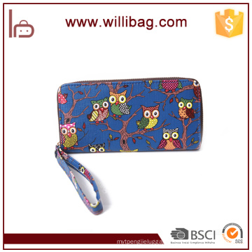 Colorful Fancy Cute Owl Wallet Fashion Cheap Women Purse