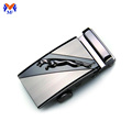 Ajustable metal stainless steel men's belt buckle custom