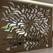 Laser Cut Steel Screen Fences