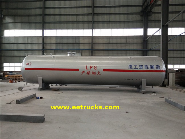 New 10000 Gallon Propane Storage Vessels