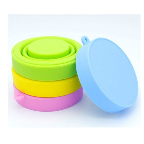 170ml Custom Logo Collapsible Foldable Eco Friendly Silicone Water Bottle