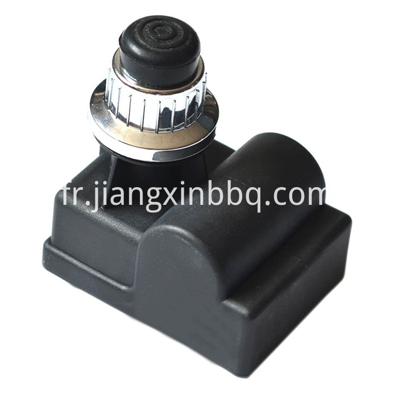 Silver Push Button Igniter