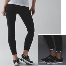 Grossistes Laddies Fitness Sports Pantalons compression serrée avec des détails réfléchissants et Draw String